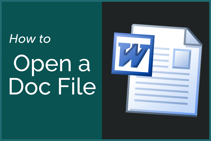 open a doc file